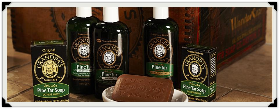 Grandpa's Pine Tar Soap Is Here!